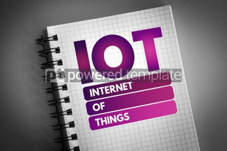 Business: IOT - Internet Of Things acronym #06797