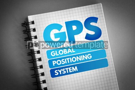 Business: GPS - Global Positioning System acronym #06805