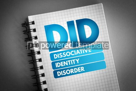 Business: DID - Dissociative Identity Disorder acronym #06810