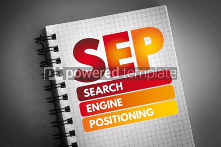 Business: SEP - Search Engine Positioning acronym #06816