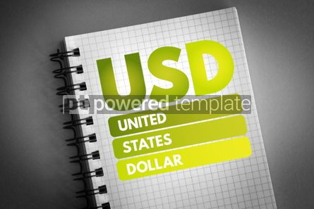 Business: USD - United States Dollar acronym #06817