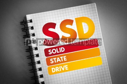 Business: SSD - Solid State Drive acronym #06823