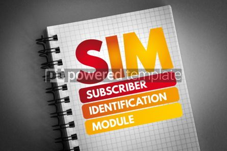 Business: SIM - Subscriber Identification Module acronym #06825