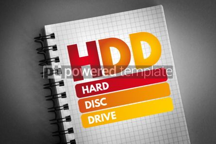 Business: HDD - Hard Disc Drive acronym #06826
