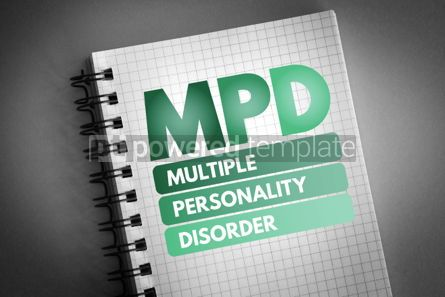 Business: MPD - Multiple Personality Disorder acronym #06827