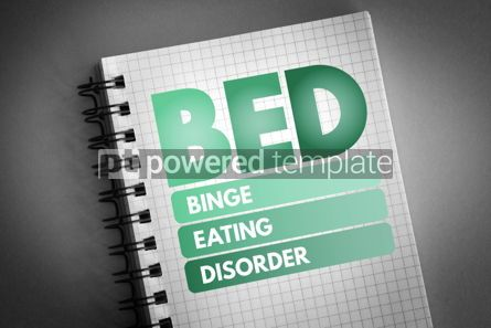Business: BED - Binge Eating Disorder acronym #06828
