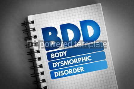 Business: BDD - Body Dysmorphic Disorder acronym #06830