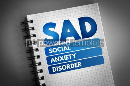 Business: SAD - Social Anxiety Disorder acronym #06831
