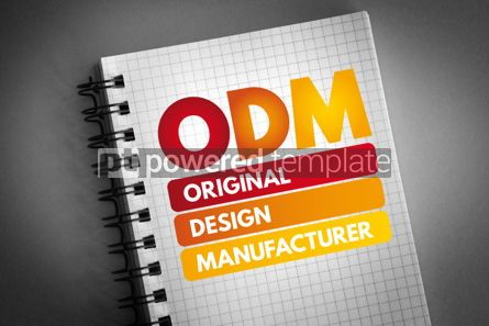 Business: ODM - Original Design Manufacturer acronym #06836