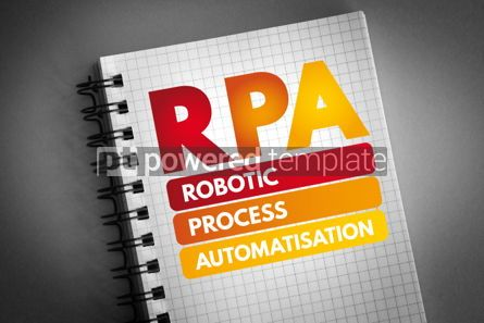 Business: RPA - Robotic Process Automatisation acronym #06841