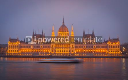 Architecture : Hungarian National Parliament Building Budapest Hungary #06859
