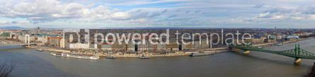 Architecture: Panorama of Budapest city Hungary #06862