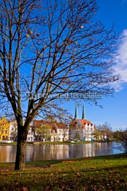 Architecture : City of Lubeck Germany #06866