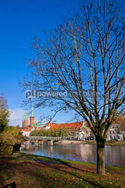 Architecture : City of Lubeck Germany #06868
