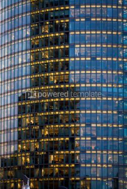 Architecture : Skyscraper with office windows and glass background #06874