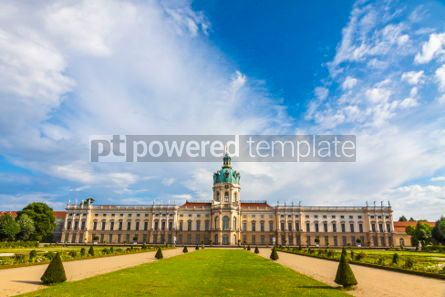 Architecture : Charlottenburg Palace in Berlin Germany #06884