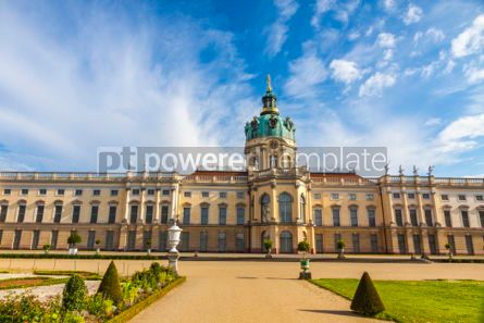 Architecture : Charlottenburg Palace in Berlin Germany #06885