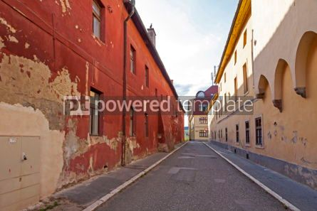 Architecture : On the streets of Levoca city Slovakia #06891