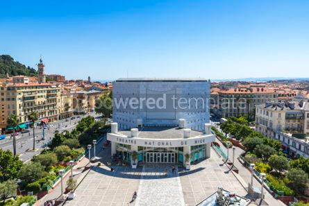 Architecture : National Theater of City of Nice (Theatre National de Nice) Fra #06895