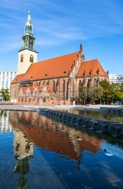 Architecture : St. Mary's Church (Marienkirche) in Berlin Germany #06898