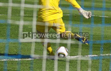 Sports : Soccer football goalkeeper #06995