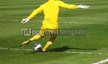 Sports : Soccer football goalkeeper #06996