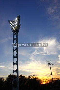 Sports : Stadium lighting mast #06998