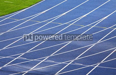 Sports : Running track for Athletics #07005