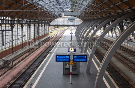 Transportation: Lubeck Hauptbahnhof railway station Germany #07017