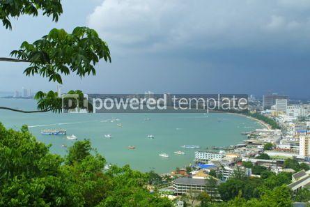 Nature: Aerial view of Pattaya city Thailand #07030