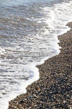 Nature: Pebble beach at the Mediterranean seacoast #07041