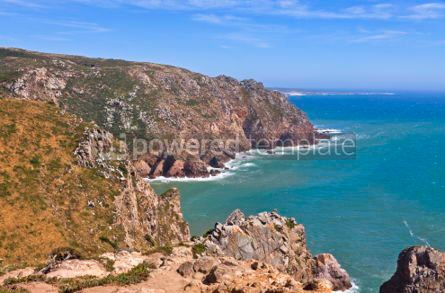 Nature: Cabo da Roca - the most western point of Europe Portugal #07050