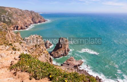 Nature: Cabo da Roca - the most western point of Europe Portugal #07051