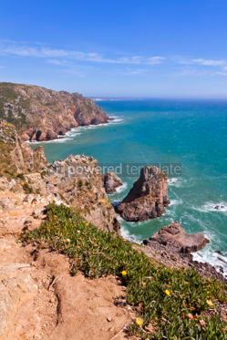 Nature: Cabo da Roca - the most western point of Europe Portugal #07052