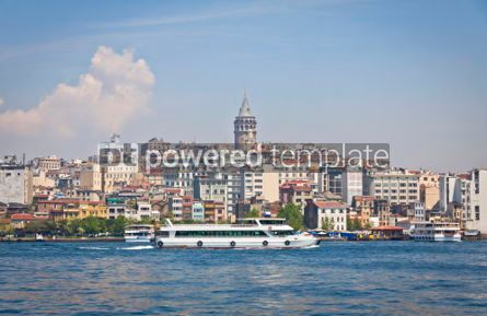 Architecture : Beyoglu historic district and Galata tower in Istanbul #07142