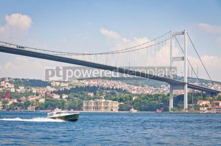 Architecture : Bridge over the Bosphorus strait in Istanbul Turkey #07145