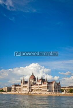 Architecture : Building of the Hungarian National Parliament in Budapest #07192