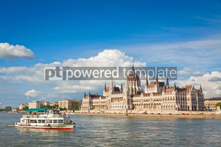 Architecture : Building of the Hungarian National Parliament in Budapest #07194
