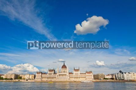 Architecture : Building of the Hungarian National Parliament in Budapest #07195