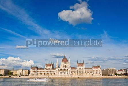 Architecture : Building of the Hungarian National Parliament in Budapest #07196