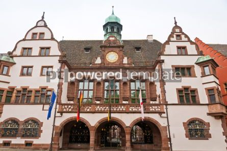 Architecture : Old Town Hall (Altes Rathaus) in Freiburg im Breisgau Germany #07202