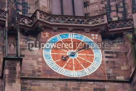 Architecture : Details of Freiburg Munster Cathedral Freiburg im Breisgau city #07203