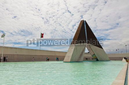 Architecture: Monument to the Fighters Overseas in Lisbon Portugal #07225