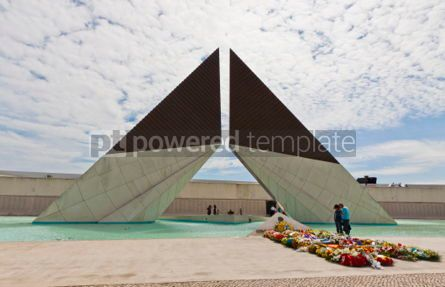 Architecture:  Monument to the Fighters Overseas in Lisbon Portugal #07227