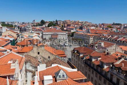 Architecture : Lisbon old city Portugal #07233