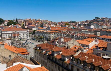 Architecture : Lisbon old city Portugal #07235