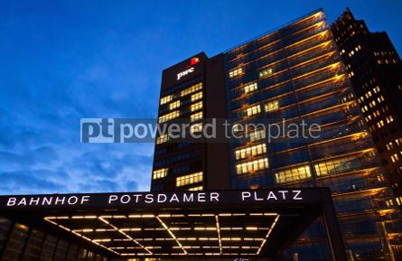 Architecture: Potsdamer Platz - financial district of Berlin Germany #07244