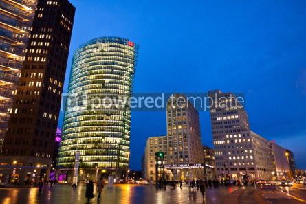 Architecture: Potsdamer Platz - financial district of Berlin Germany #07245
