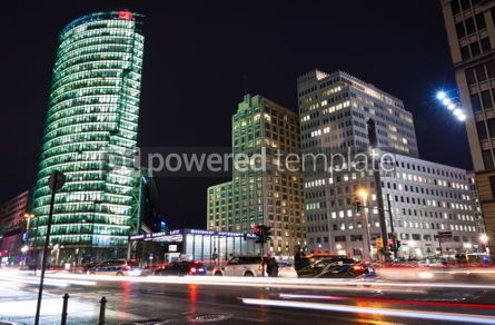 Architecture: Potsdamer Platz - financial district of Berlin Germany #07246