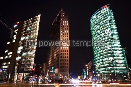 Architecture: Potsdamer Platz - financial district of Berlin Germany #07247